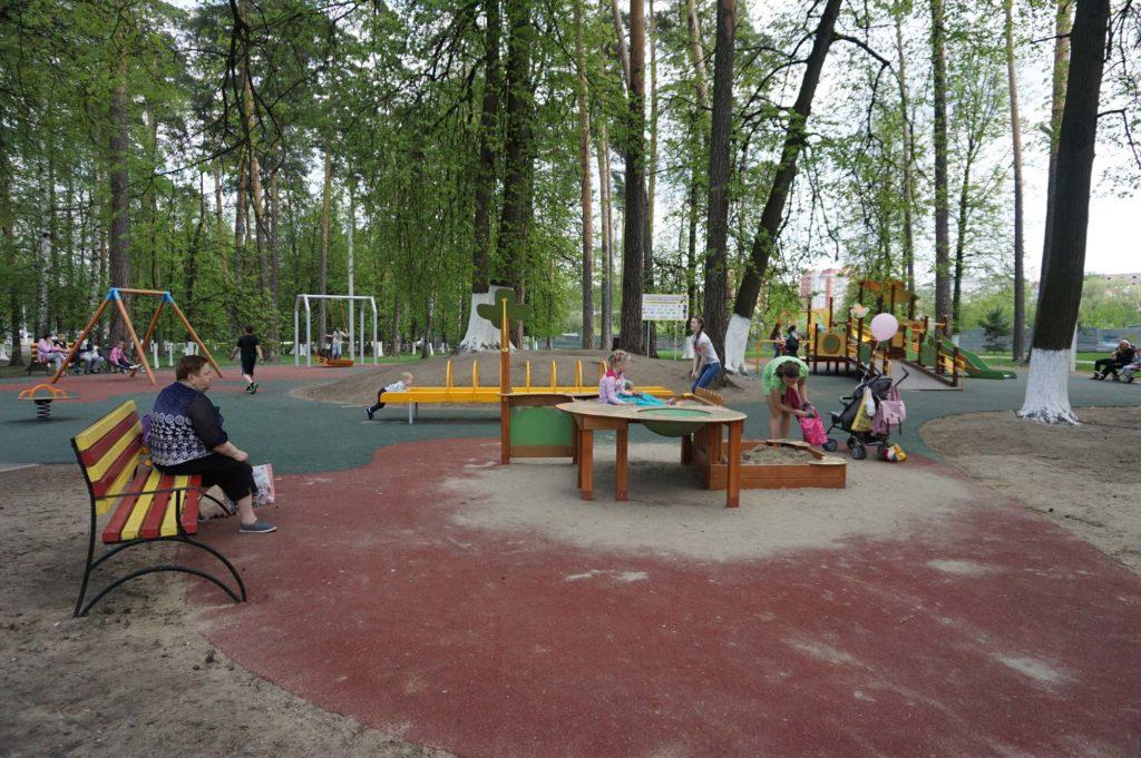 Площадка для детей с ограниченными возможностями